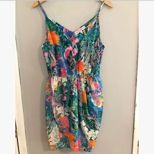 NWT Amanda Uprichard floral print dress